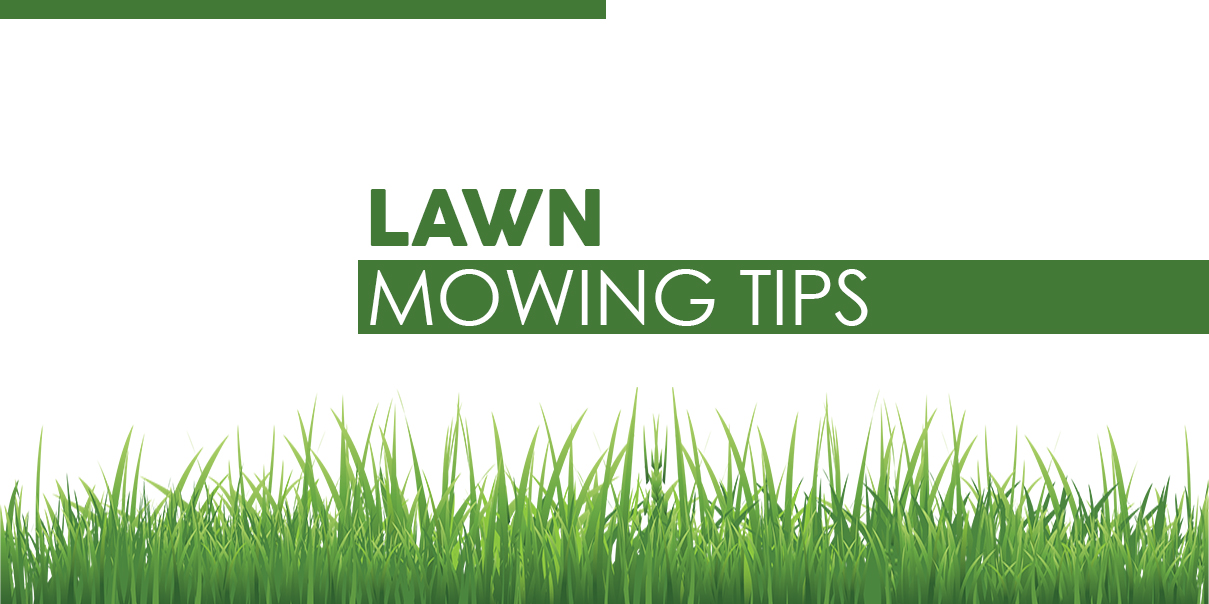 Tips For Mowing Lawns