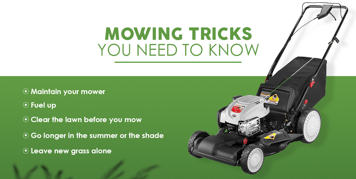 Mowing Tips & Hacks