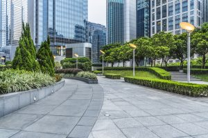 business area landscaping