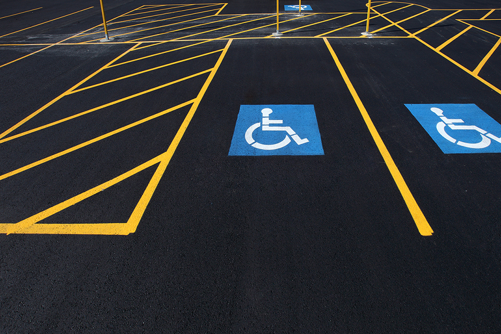 striping parking lot