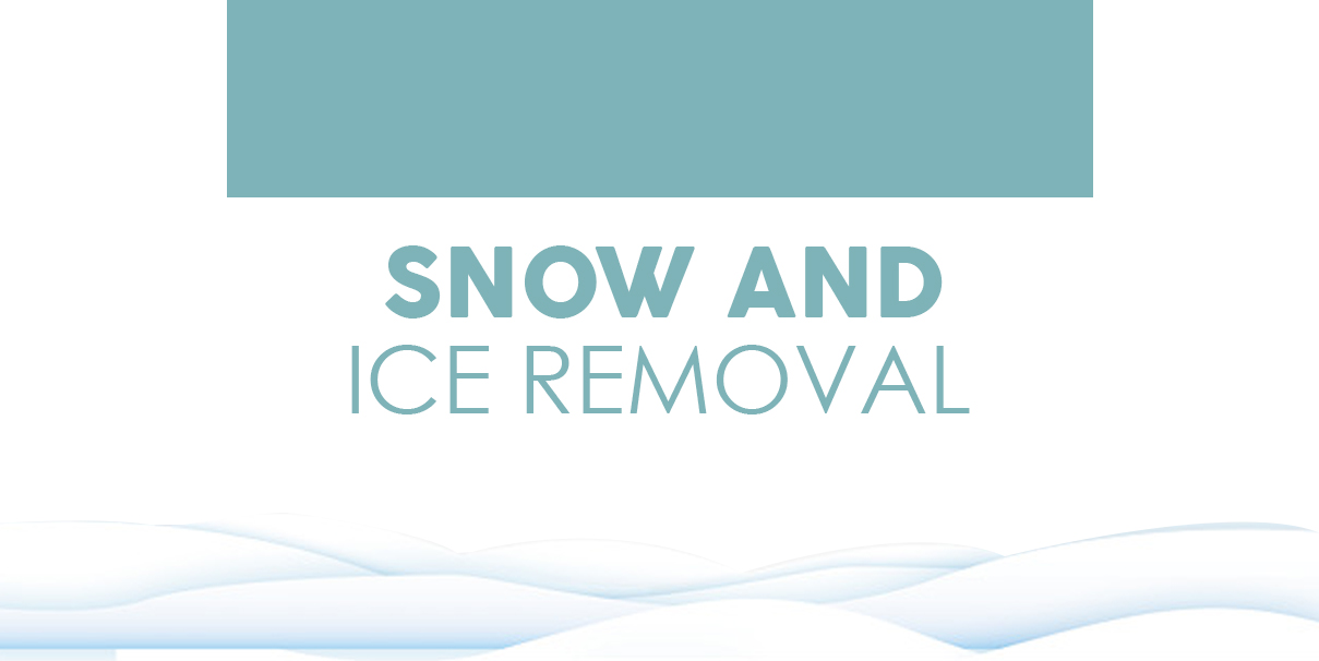 Snow and Ice Removal Tips