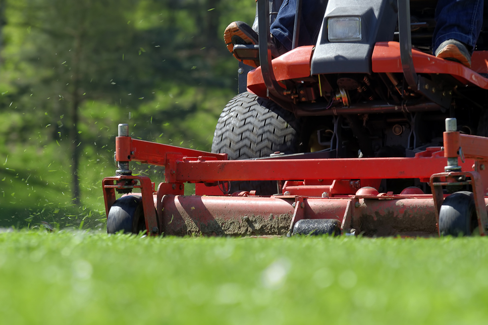 commercial lawn care contract