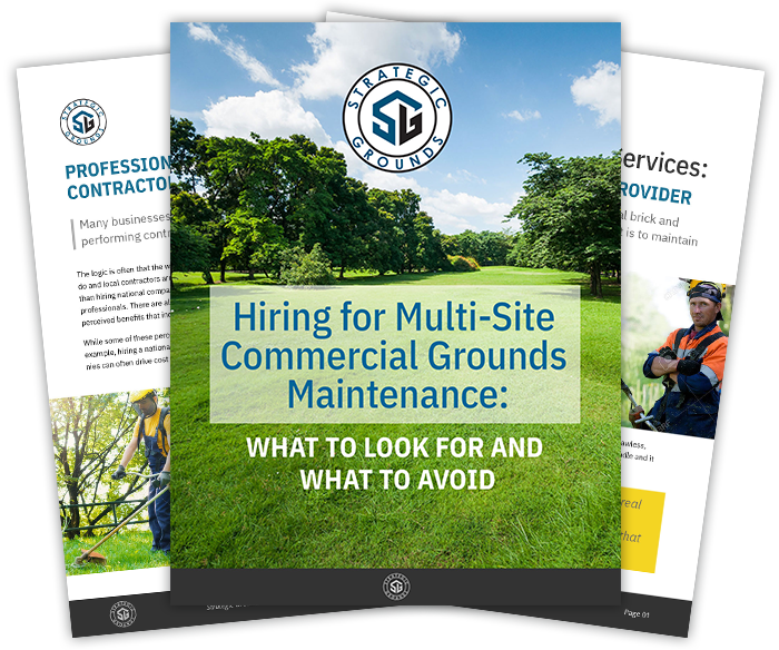 Hiring for multi-site commercial grounds maintenance with Strategic Grounds Management