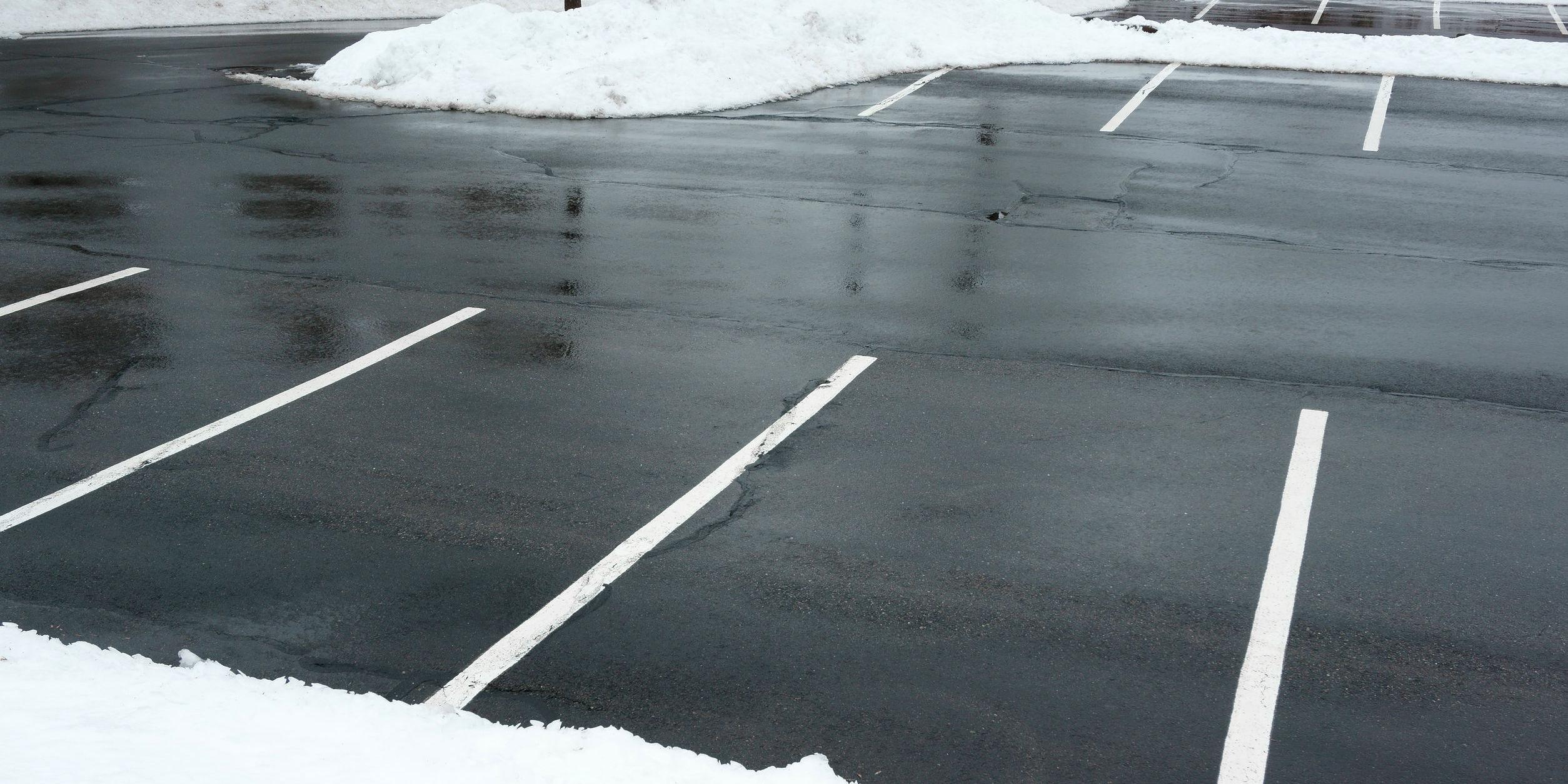 parking lot maintenance