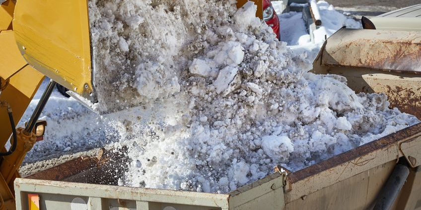 commercial properties snow removal companies